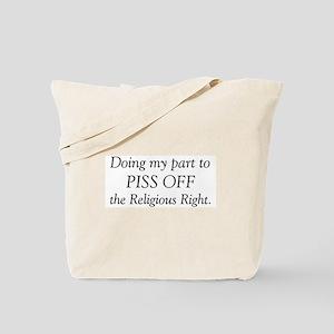 Religious Right Tote Bag