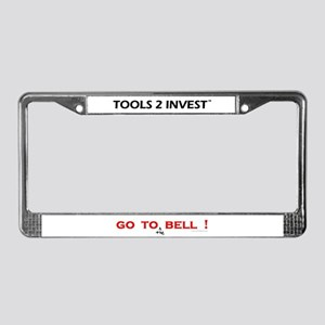 T2I:  License Plate Frame