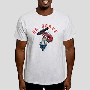 Optimus Prime Be Brave Light T-Shirt