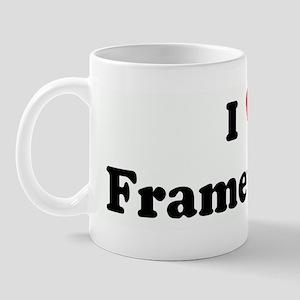 I Love Frameworks Mug