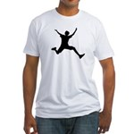 jumpingboy fitted t-shirt