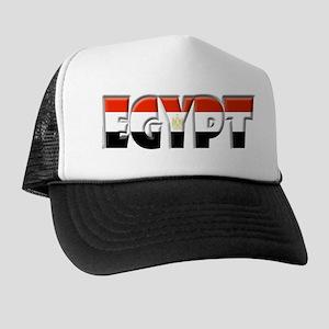 Word Art Flag of Egypt Trucker Hat