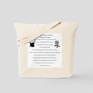 Pharmacy Tech Top 10 List Tote Bag