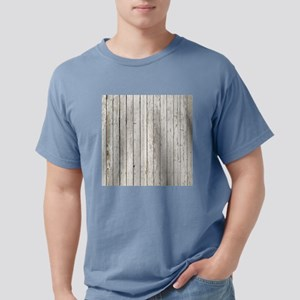 shabby chic white barn w Mens Comfort Colors Shirt