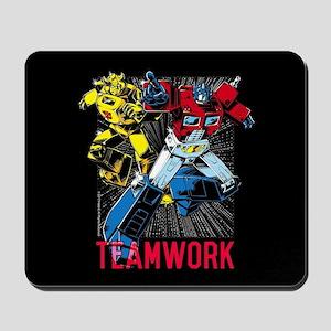 Transformers Teamwork Mousepad