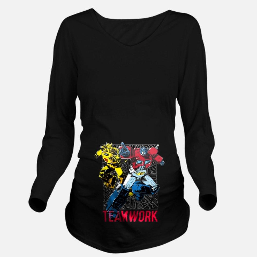 Transformers Teamwork Maternity Shirt