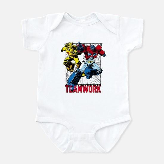 Transformers Teamwork Infant Bodysuit
