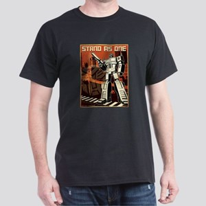 Transformers Stand as One Dark T-Shirt