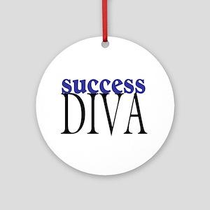 Success Diva Ornament (Round)