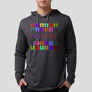 Flip for Flops Mens Hooded Shirt