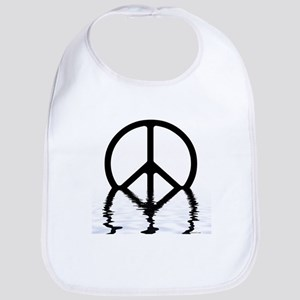 Peace Sign Sinking Bib