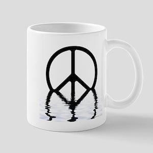 Peace Sign Sinking Mug