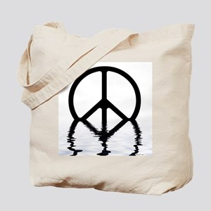 Peace Sign Sinking Tote Bag