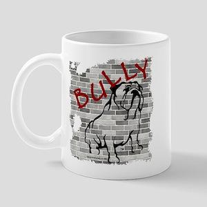 Brick Wall Bully Design Mug