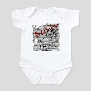 Brick Wall Bully Design Infant Bodysuit