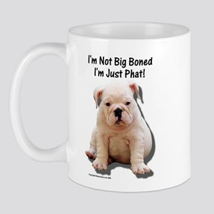 """Big Boned"" Design Mug"