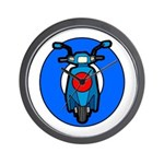 Scooter Target Wall Clock