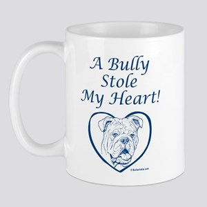 """My Heart"" Blue Mug"