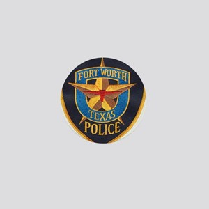 Fort Worth Police Mini Button