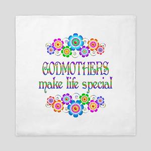 Godmothers Make Life Special Queen Duvet