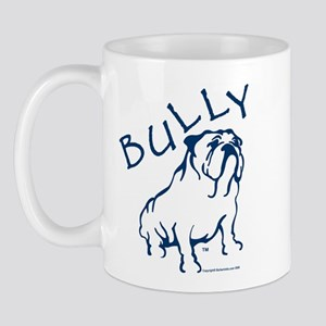 Bully Bulldog Blue Mug