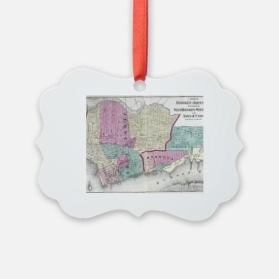 Unique Jersey city Ornament