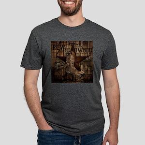 western cowboy Mens Tri-blend T-Shirt