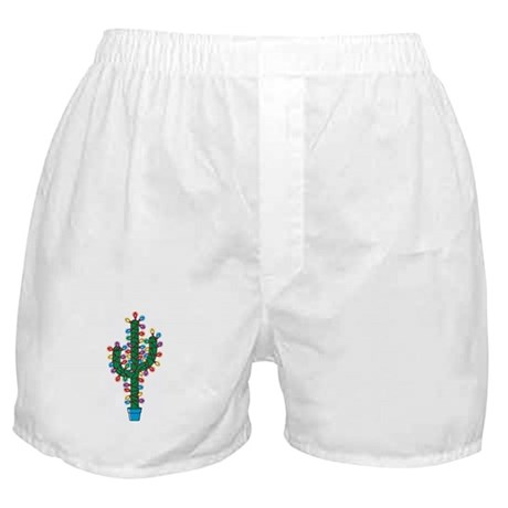 Lighted Cactus Boxer Shorts