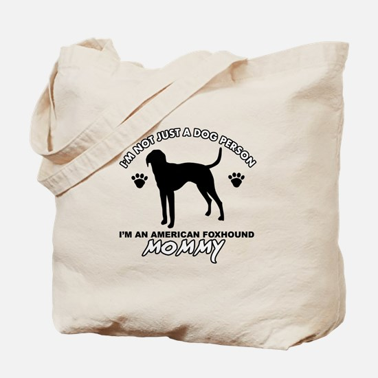 American foxhound Mommy designs Tote Bag