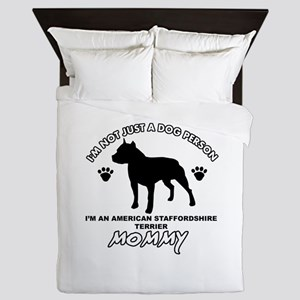 American Staffordshire Terrier Dog Mommy designs Q