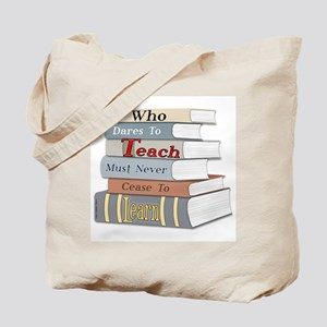 Teach... Learn Tote Bag
