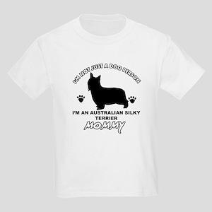 Australian Silky Terrier Mommy designs Kids Light