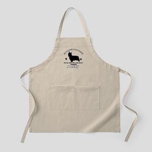 Australian Silky Terrier Mommy designs Apron