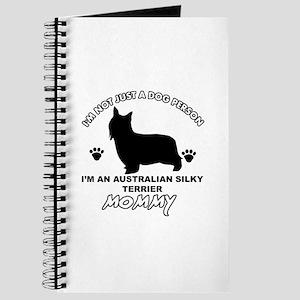 Australian Silky Terrier Mommy designs Journal