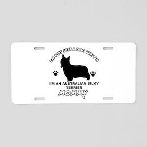 Australian Silky Terrier Mommy designs Aluminum Li