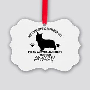 Australian Silky Terrier Mommy designs Picture Orn