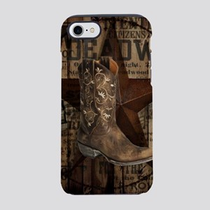 western cowboy iPhone 7 Tough Case