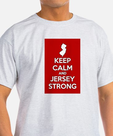 Keep Calm Jersey Strong T-Shirt