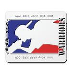 40-oz Logo Mousepad / Beer Coaster
