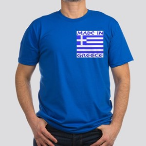 Made in Greece Upper & Back Men's Fitted T-Shirt (