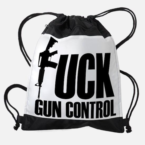 guncontrol Drawstring Bag