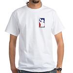 40-oz Logo White T-shirt
