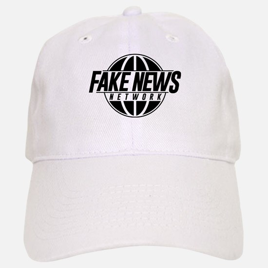 Fake News Network Baseball Baseball Cap