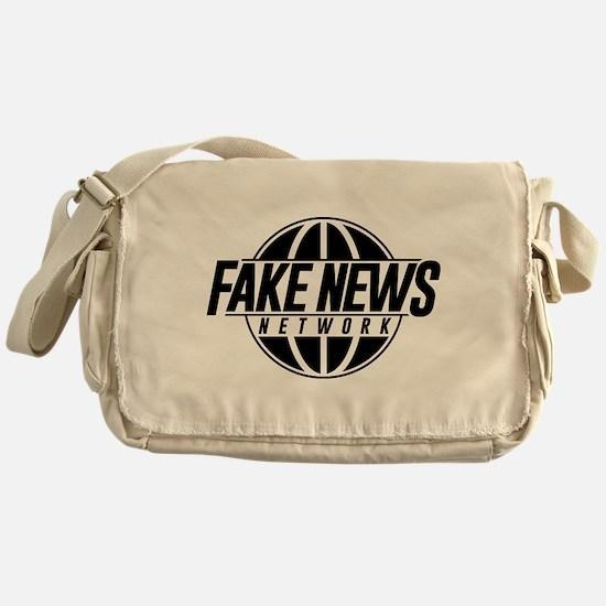 Fake News Network Messenger Bag