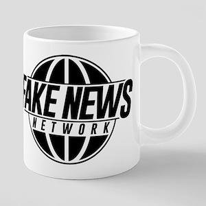 Fake News Network 20 oz Ceramic Mega Mug