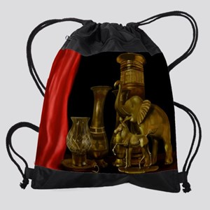 The Brass Menagerie Drawstring Bag