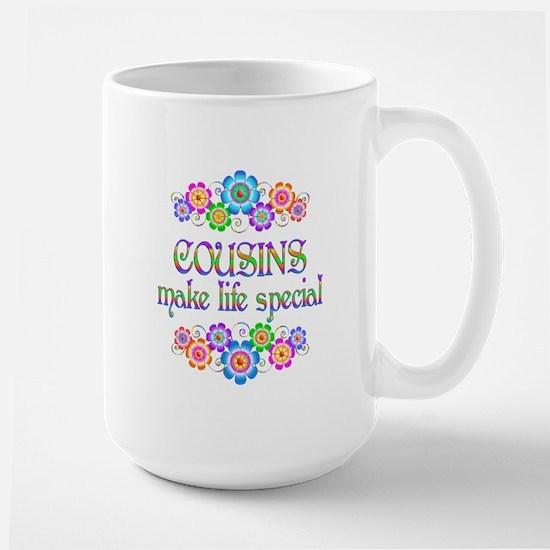 Cousins Make Life Special Mug