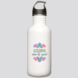 Cousins Make Life Spec Stainless Water Bottle 1.0L