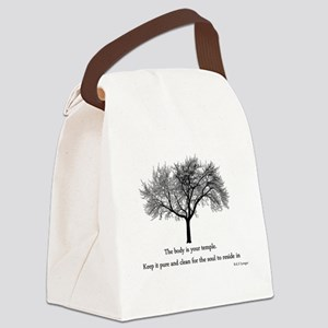 yoga tree Canvas Lunch Bag