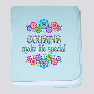 Cousins Make Life Special baby blanket